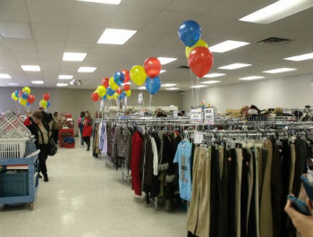 The Salvation Army thrift store in High River, Alberta reopened five months after floods wreaked havoc on its interior.