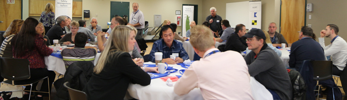 A recent BC Ferries town hall session. Photo courtesy of BC Ferries.